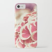 hydrangea iPhone & iPod Cases featuring Hydrangea by Julia Tomova