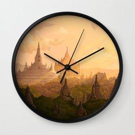 Bagan Myanmar Wall Clock