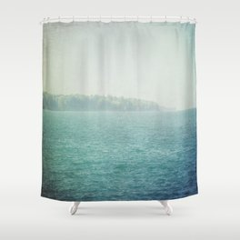Faded Summer Shower Curtain