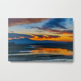 Saddleback at Sunrise from the Back Bay Metal Print