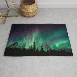 Aurora Borealis (Heavenly Northern Lights) Rug