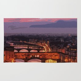 Florence, beauty of Italy Rug