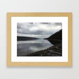 Hemlock lake Framed Art Print