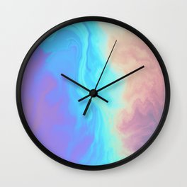 Holograph x Marble Wall Clock