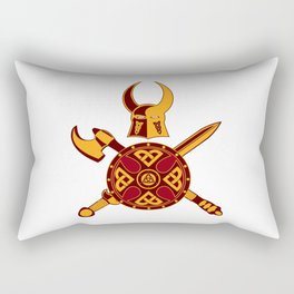 Norse War Icon Rectangular Pillow