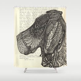 Big Face Shower Curtain