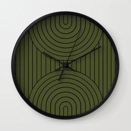 Arch Symmetry X Wall Clock