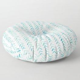 Arrow up aquatica pattern Floor Pillow