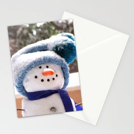 Snow Cute Handmade Snowman Stationery Cards