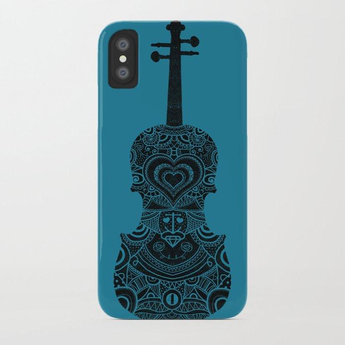 Analog zine - Fiddle iPhone Case