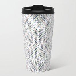Herringbone Diamonds - Moss Travel Mug