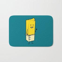 Buttered Buttery Stick of Butter Happy Thumbs Up Bath Mat