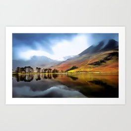 Buttermere (Painting) Art Print