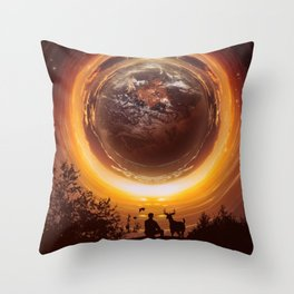 A WORLD OF PEACE Throw Pillow