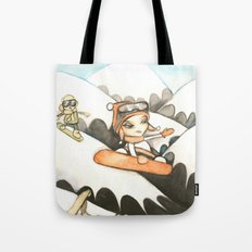 Snowboarders Tote Bag
