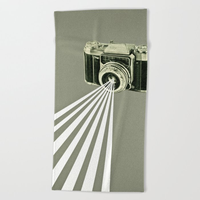Depth of Field Beach Towel