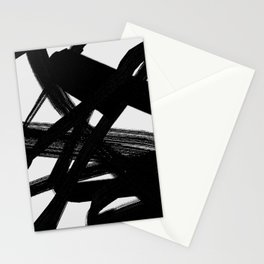 Shadow Flight - Abstract Paint Stationery Cards