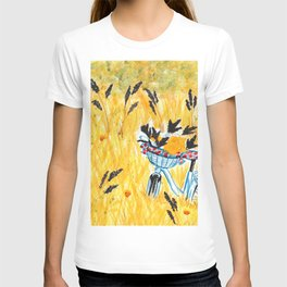 Bicycle in the field T-shirt