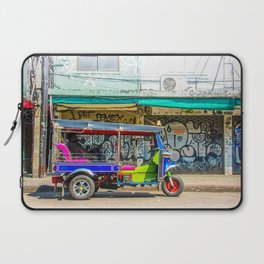 Tuk-Tuk in Bangkok Laptop Sleeve