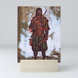 Japanese Ninja Warrior  Mini Art Print