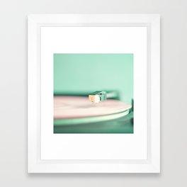 Soft Record Framed Art Print