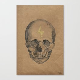 """26"" Skull Canvas Print"