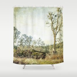 Losing a Part of Oneself Shower Curtain