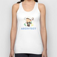 architect Tank Tops featuring Architect by Alapapaju