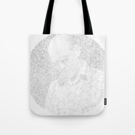 [De]generated ArcFace - Hunter S. Thompson Tote Bag