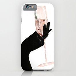 Champagne Chic iPhone Case