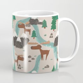 Moose in the Wildnerness Coffee Mug
