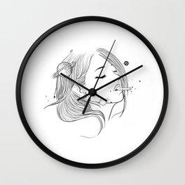 Cigarettes wish. Wall Clock
