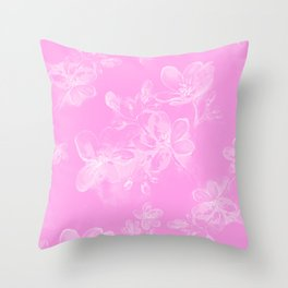 Springflower Throw Pillow