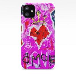 Love Amor iPhone Case