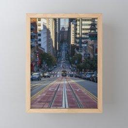 San Francisco Streets Framed Mini Art Print