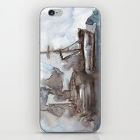boats iPhone & iPod Skins featuring Boats by Marine Koprivnjak
