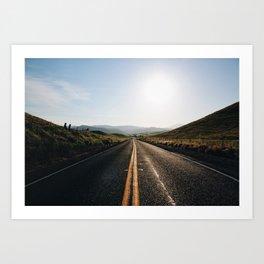 ➳ On the Road ➳ Art Print