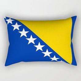 Bosnia And Herzegovina Flag Rectangular Pillow