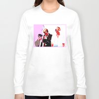 snk Long Sleeve T-shirts featuring SNK Broken Boys by rhymewithrachel