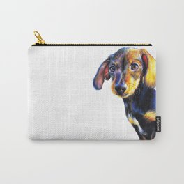Frank the Dachshund Carry-All Pouch