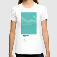 pantone T-shirts featuring PANTONE #4 by Leonardo Tezcucano