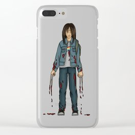 Laura Kinney - x23 Clear iPhone Case