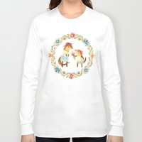 grateful dead Long Sleeve T-shirts featuring Otterly Grateful by Teagan White