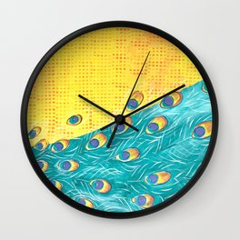 Peacock - Majestic Wall Clock