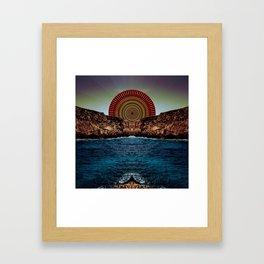 Aeterna Lux Solis Framed Art Print