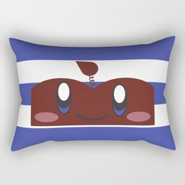 Apple Man Productions - Color Rectangular Pillow