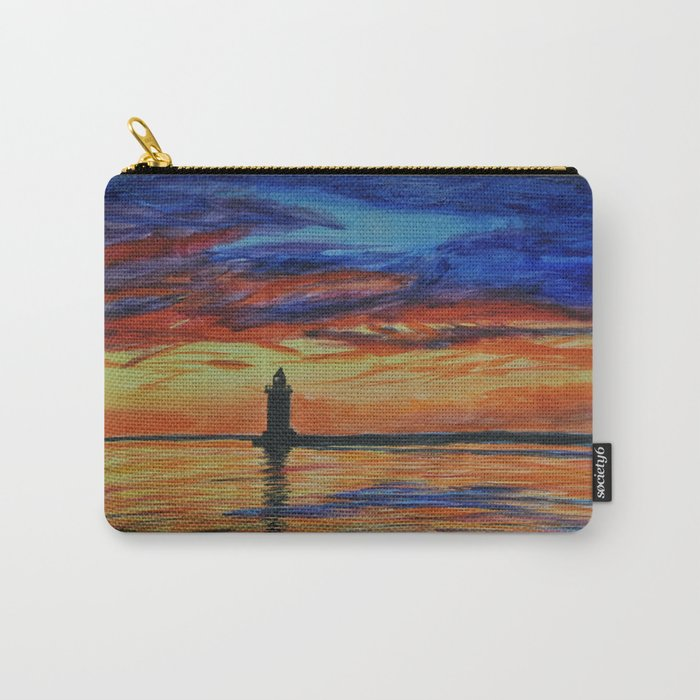 Cape Henlopen Lighthouse Carry-All Pouch
