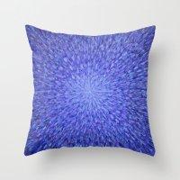 karma Throw Pillows featuring Karma by emco