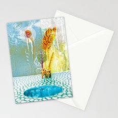 Salatarian EYELAND Lagoon Stationery Cards