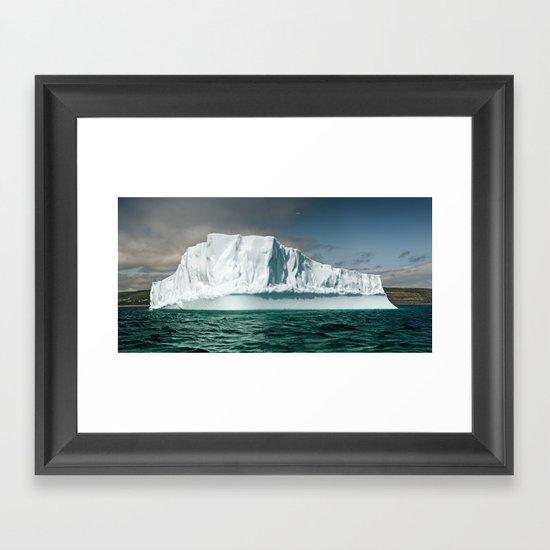 Northern Visitor Framed Art Print